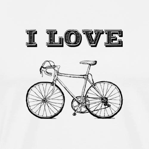 I love cycling 2 - Männer Premium T-Shirt