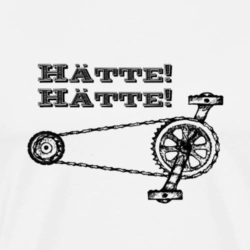 Haette Haette Fahrradkette 1 - Männer Premium T-Shirt
