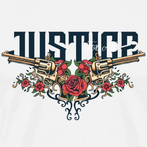 Waffen und Liebe - Männer Premium T-Shirt