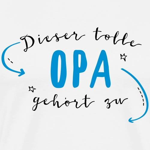 Dieser tolle Opa - Männer Premium T-Shirt