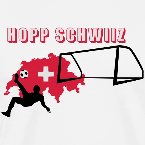Hopp Schwiiz - Männer Premium T-Shirt