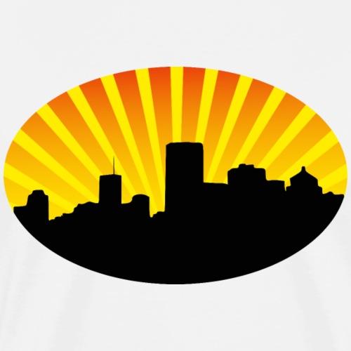 city skyline - Männer Premium T-Shirt