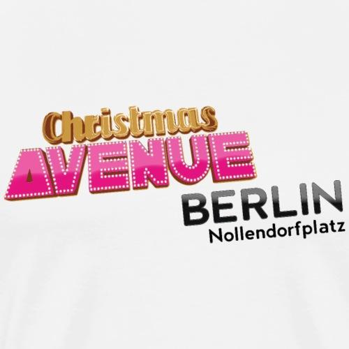 Christmas Avenue Berlin - Männer Premium T-Shirt