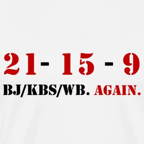 21-15-9 Workout - T-shirt Premium Homme