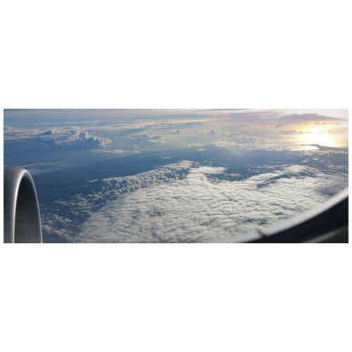 Flugzeug Himmel Wolken Australien - 2. Motiv - Männer Premium T-Shirt