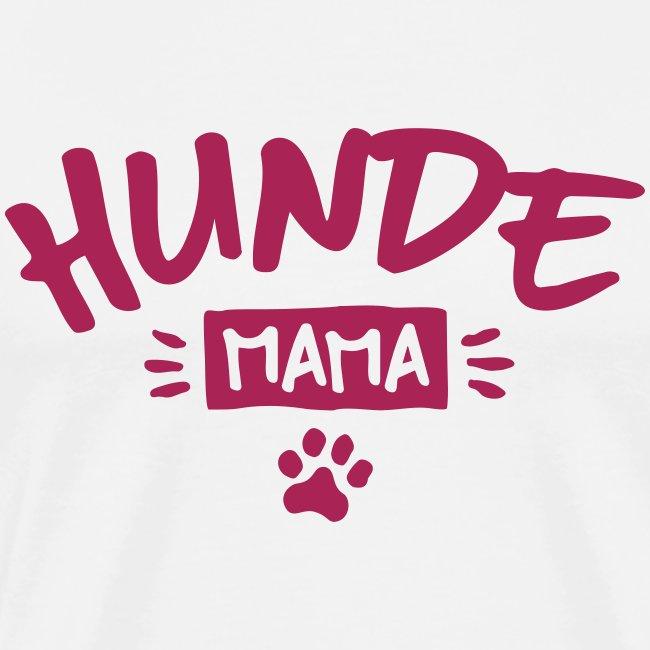 Vorschau: Hunde Mama - Männer Premium T-Shirt