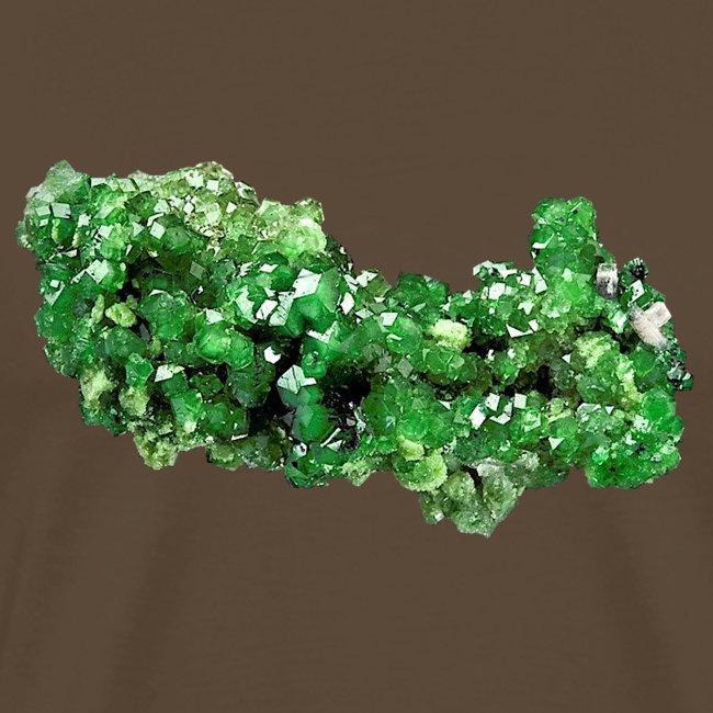 Granat Uwarowit grün Mineral Inselsilikat Schmuck