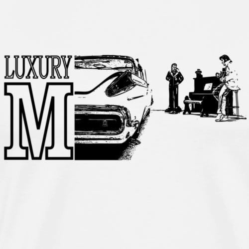 The Luxury M - Herre premium T-shirt