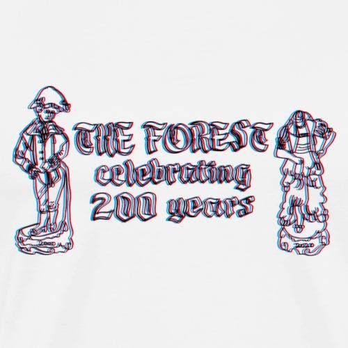 Forest 200 3d - Men's Premium T-Shirt
