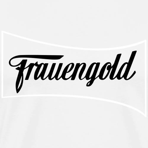 Frauengold 2col - Männer Premium T-Shirt