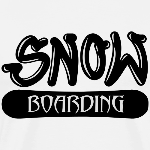 Snow Boarding - Männer Premium T-Shirt