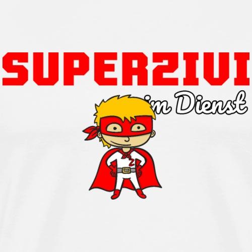 Super Zivi Zivildiener Zivildienst Shirt - Männer Premium T-Shirt