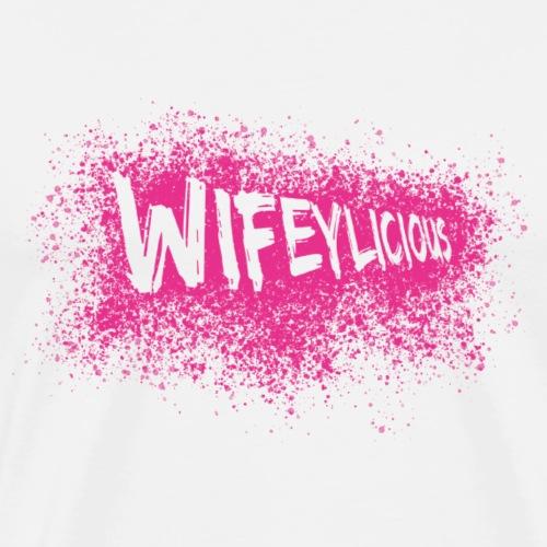 Wifeylicious - Männer Premium T-Shirt