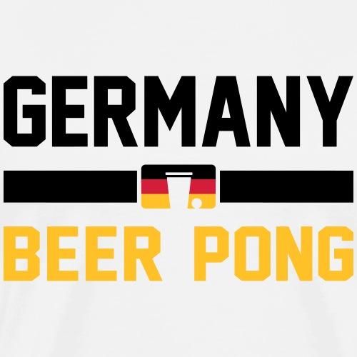 Germany Beer Pong - Männer Premium T-Shirt