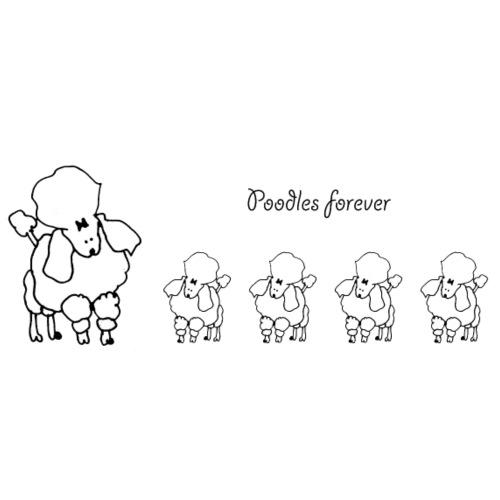 poodles Forever - Herre premium T-shirt