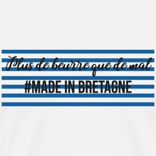 Plus de beurre que de mal - T-shirt Premium Homme