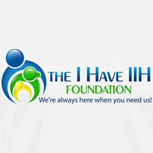 the I Have IIH Foundation final png - Men's Premium T-Shirt