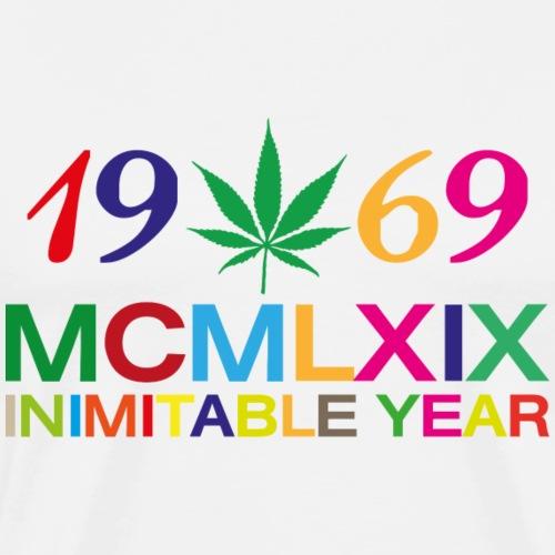 INIMITABLE YEAR pop - Koszulka męska Premium