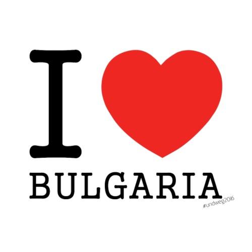 I ❤ BULGARIA - Männer Premium T-Shirt