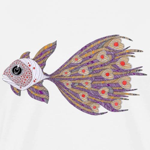 Pesce di cuori - Maglietta Premium da uomo