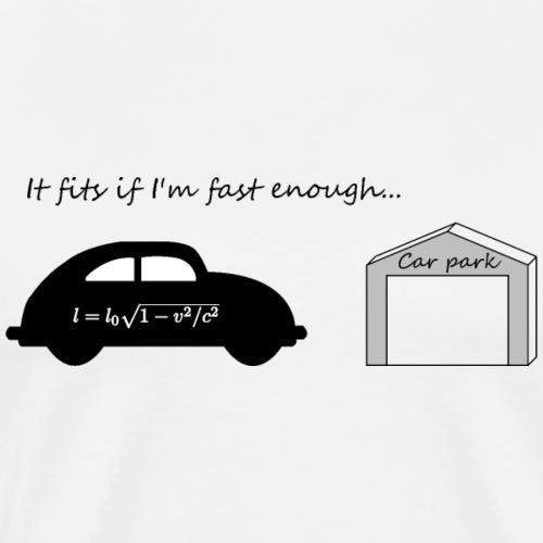 Einstein - Auto Garage - spezielle Relativität