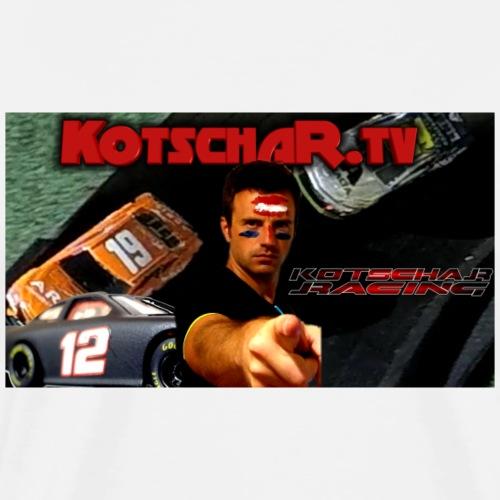 Kotschar Racing - Männer Premium T-Shirt