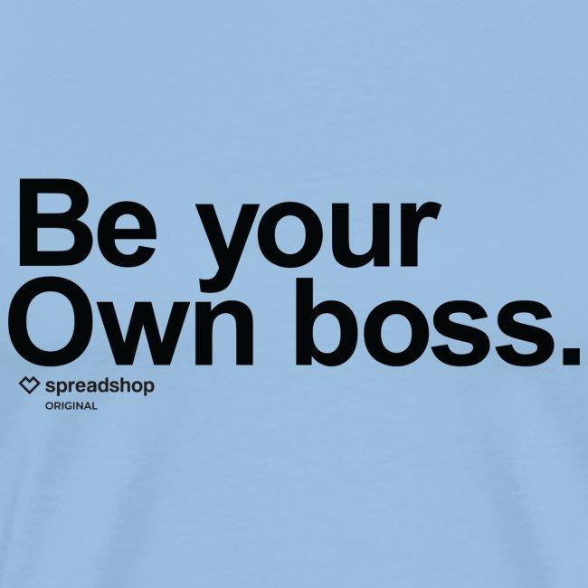 Boss in black