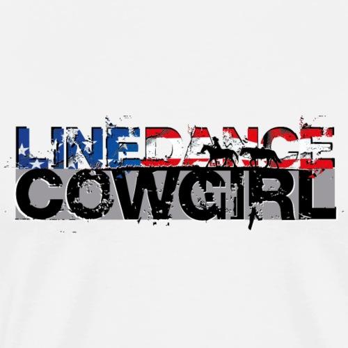 kl_linedance69c - Männer Premium T-Shirt