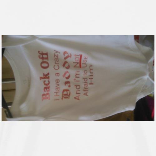 crazy daddy - Men's Premium T-Shirt