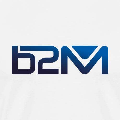 B2M degrade bleu - T-shirt Premium Homme