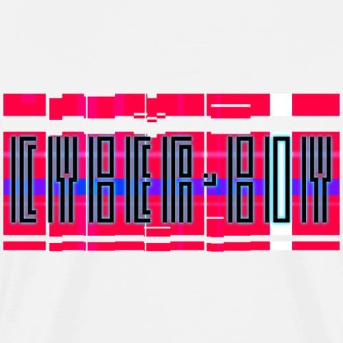 Cyber-boy colorful - Männer Premium T-Shirt