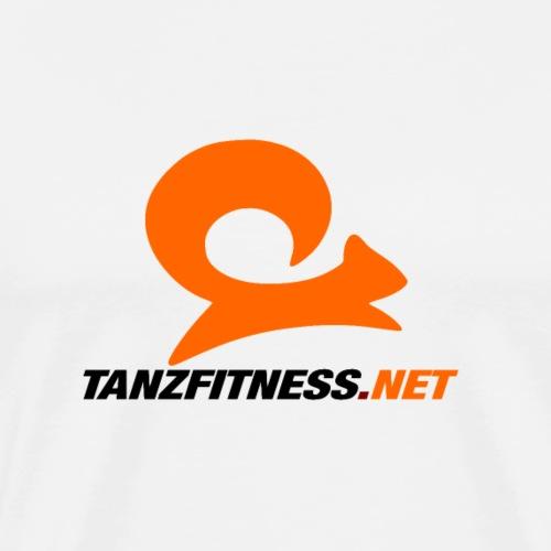 Tanzfitness.net Logo - Männer Premium T-Shirt