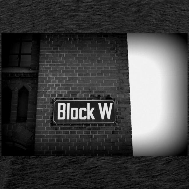 Original Artist design * Block W