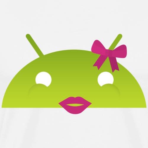 logo android femme - T-shirt Premium Homme