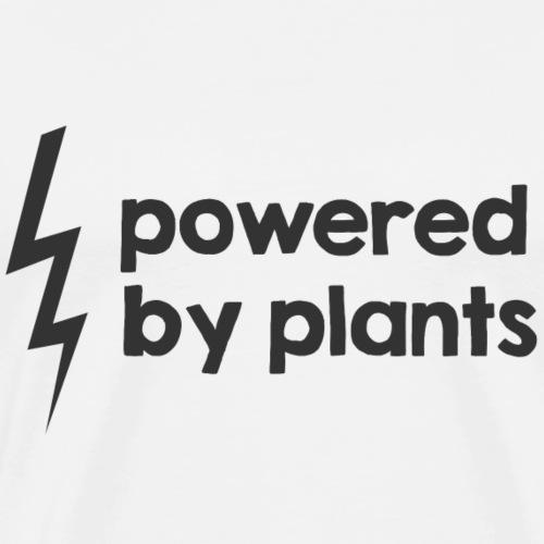 Powered by plants - Männer Premium T-Shirt