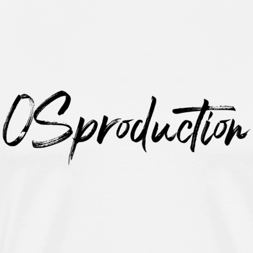 os production - T-shirt Premium Homme