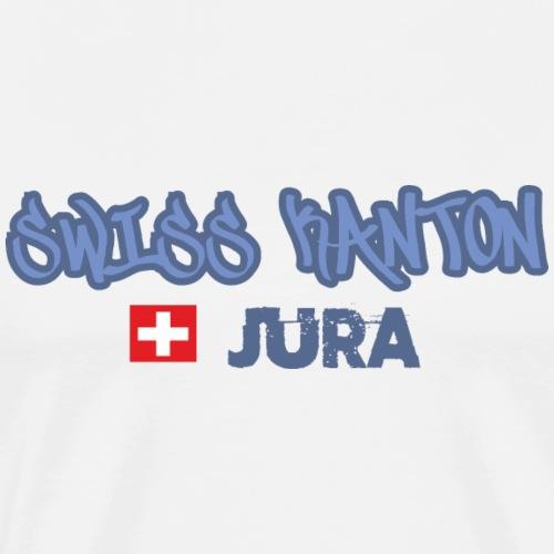Kantons T-Shirt Jura selber bedrucken - Männer Premium T-Shirt