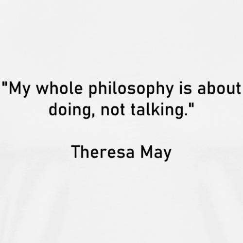 Theresa May - T-shirt Premium Homme