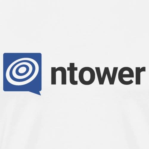 ntower Logo - Männer Premium T-Shirt