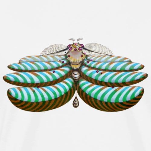 Fibonacci moth - Maglietta Premium da uomo