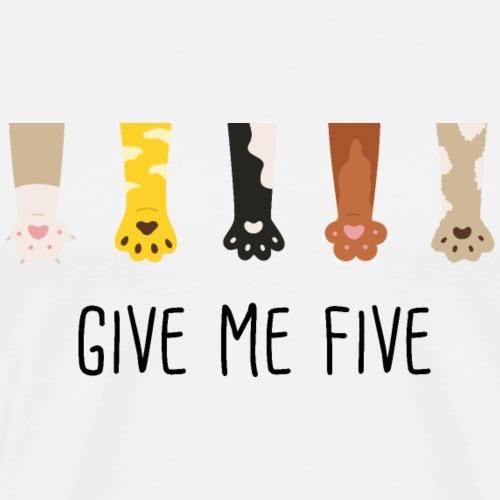 give me five - T-shirt Premium Homme