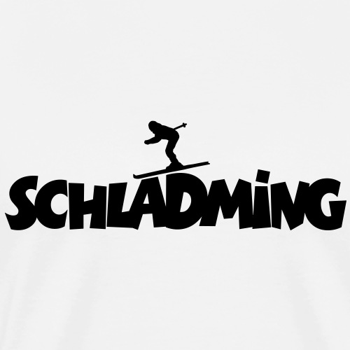 Schladming Ski Skifahren - Männer Premium T-Shirt