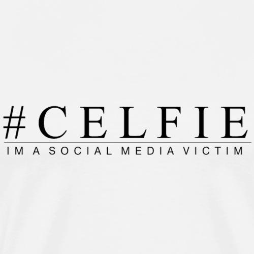CELFIE - Herre premium T-shirt