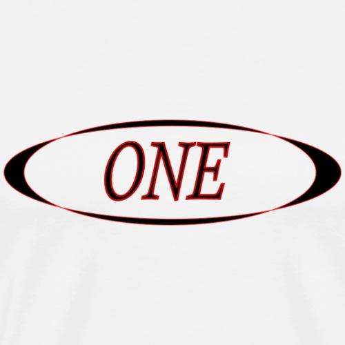 one - T-shirt Premium Homme