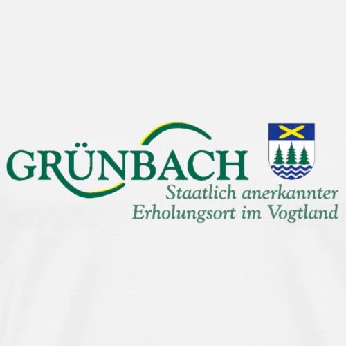 Grünbach Vogtland Sachsen Erholung Urlaub - Männer Premium T-Shirt
