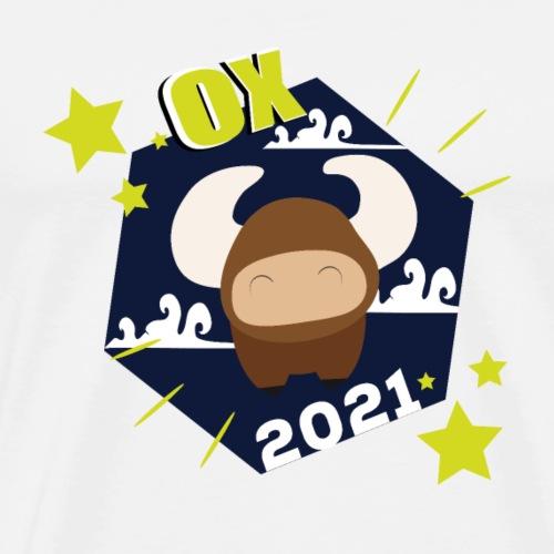 OX 2021 Sign - Maglietta Premium da uomo