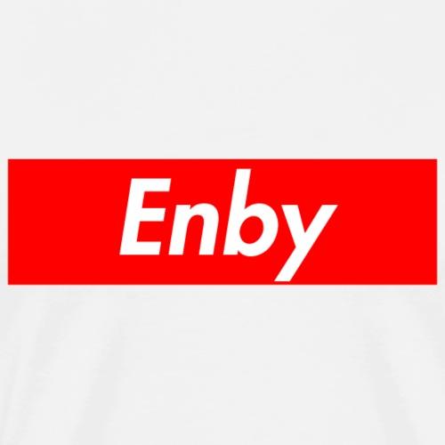 ENBY Supmeme - Männer Premium T-Shirt