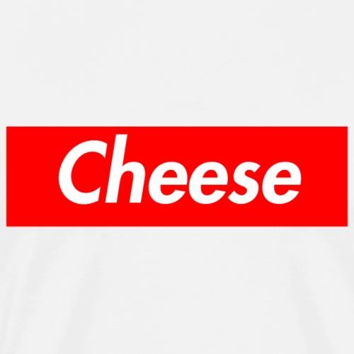 CHEESE Supmeme - Männer Premium T-Shirt