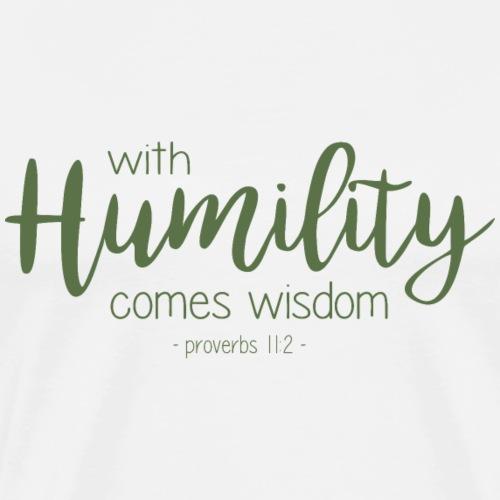 Humility - Men's Premium T-Shirt