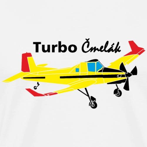 turbo cmelak Pilot Flugzeug Geschenk - Männer Premium T-Shirt